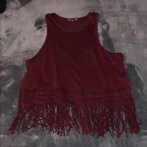 Large showy Charlotte Russe tank top